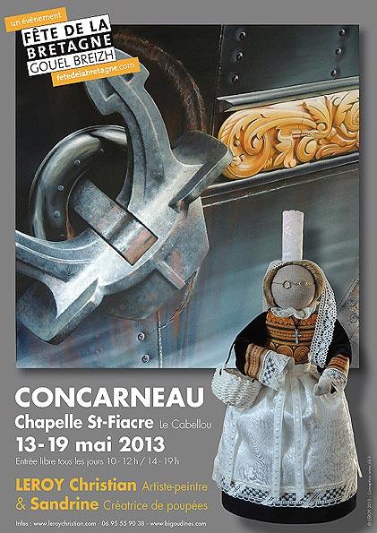 Expo Concarneau 13/19 mai 2013