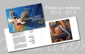 Book Entrée en matières 2012-2013 - © Christian LEROY