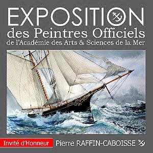 Exposition des Peintres Officiels de l'Académie des Arts & Sciences de la Mer - Mesquer (44) - Maison du Patrimoine - du 08 au 17 avril