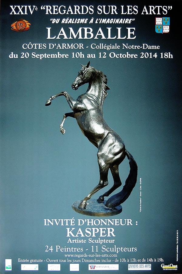 Exposition Regards sur les arts - Lamballe - Collégiale Notre-Dame - du 20 sept au 12 oct 2014
