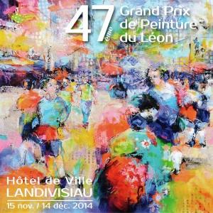 47ème Grand Prix de peinture du Léon - Landivisiau - du 15 nov au 14 déc 2014