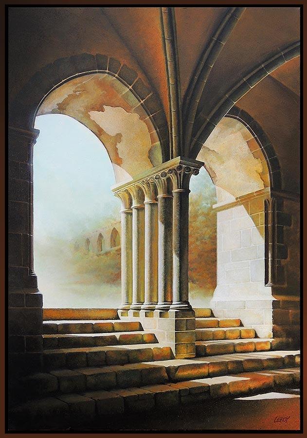 """""""Chapitre III"""" acrylique/toile 90 x 130 cm © Christian LEROY"""