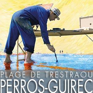 Festival des Peintres - Trestraou - Perros-Guirec - 23 et 24 juillet 2016