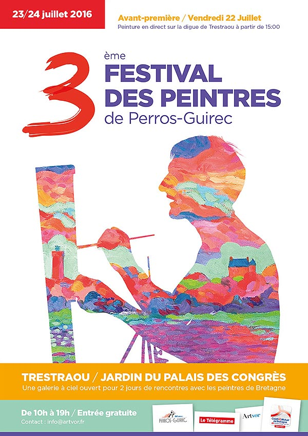Festival des Peintres - Perros-Guirec - 23 et 24 juillet 2016