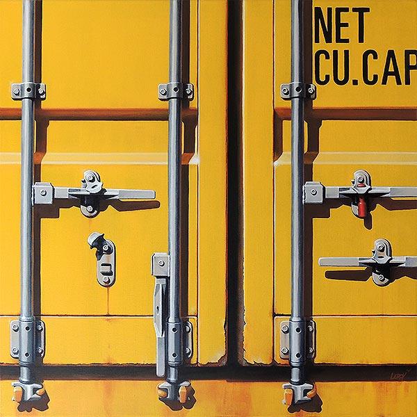 Etat des lieux III - acrylique/toile 80x80 © Christian Leroy