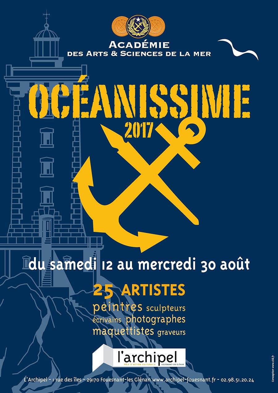 Oceanissime 2017 Fouesnant Archipel - Académie des Arts et Sciences de la Mer