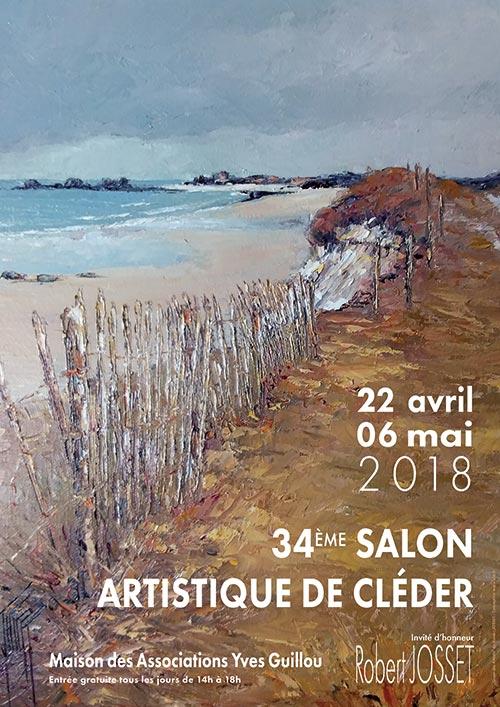Salon Artistique de Cléder - Affiche 2018 - Christian Leroy