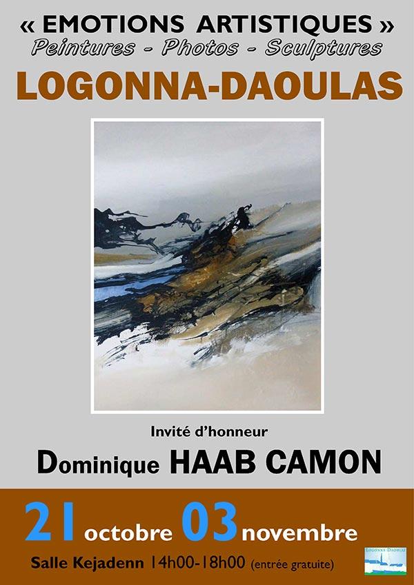 Salon Emotions Artistiques 2018 affiche - Logonna-Daoulas