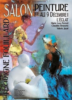 Affiche Salon de Peinture - Thorigné-Fouillard - du 1er au 9 décembre 2018
