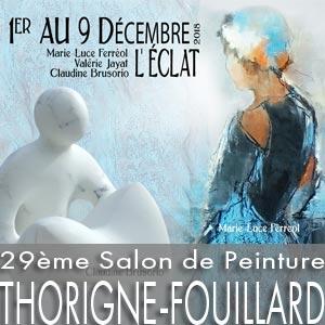 29ème Salon de Peinture - Thorigné-Fouillard - du 1er au 9 décembre 2018