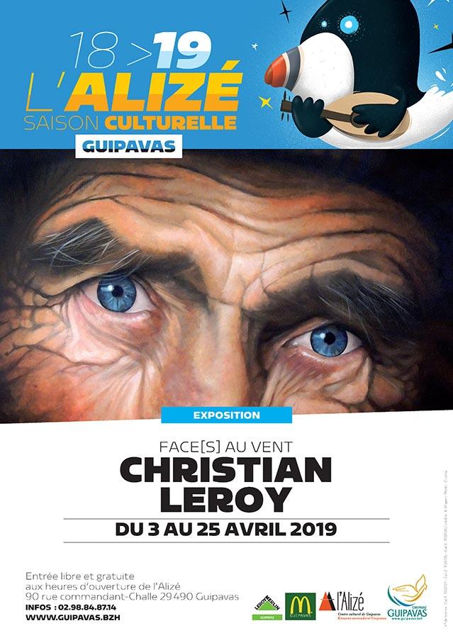 Exposition à L'Alizé GUIPAVAS du 03 au 25 avril 2019