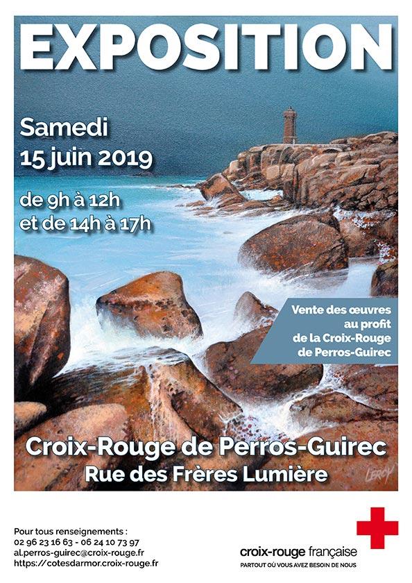 Croix-Rouge Perros-Guirec vente caritative 15 juin 2019 © Leroy Christian