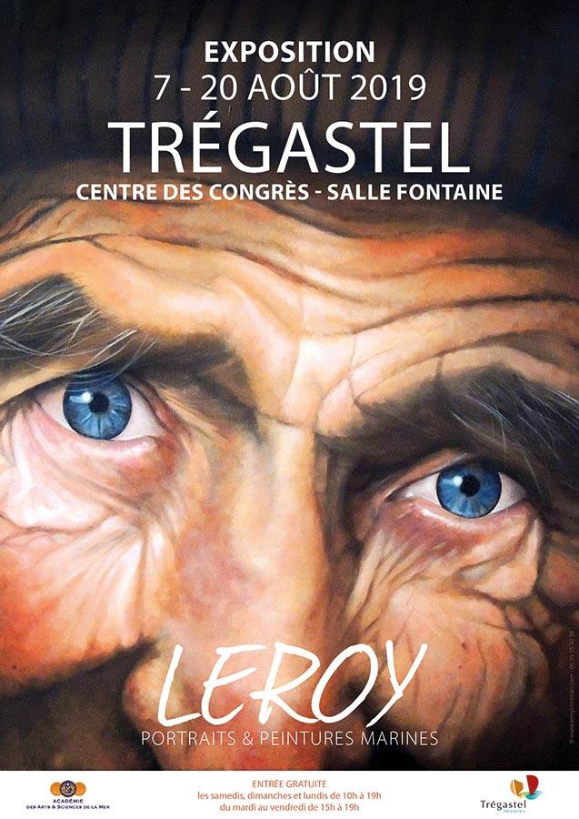 LEROY exposition - Côtes d'Armor - Granit Rose - Trégastel - Perros-Guirec - 7 au 20 août 2019