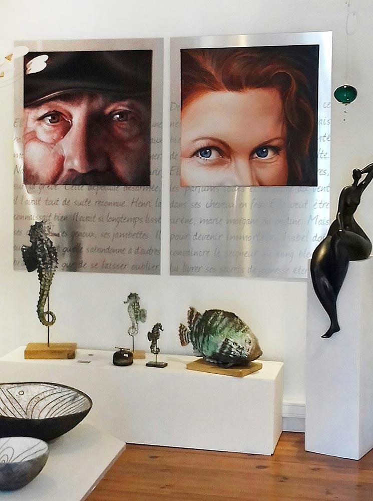 Christian Leroy - Galerie Patricia Queran Pont-L'Abbé 2019