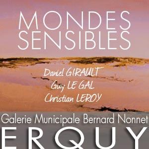 Galerie Municipale Bernard Nonnet – ERQUY Exposition du 4 au 15 avril 2020
