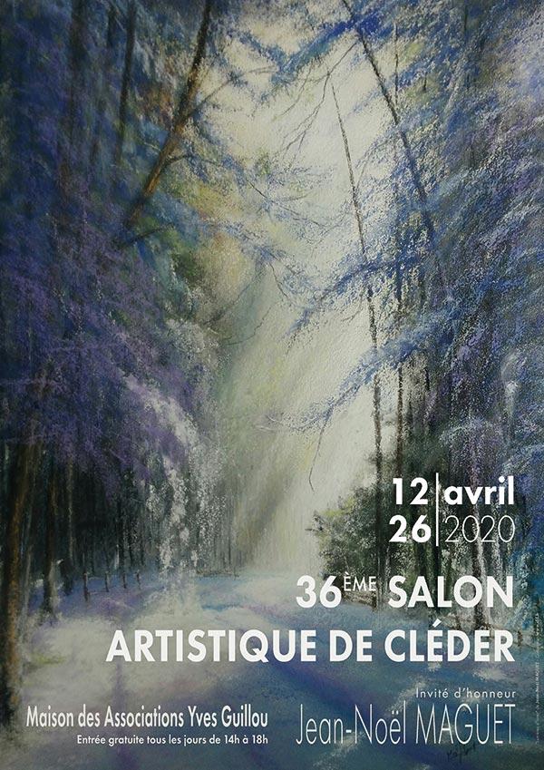 Salon Artistique de Cléder 2020 - affiche