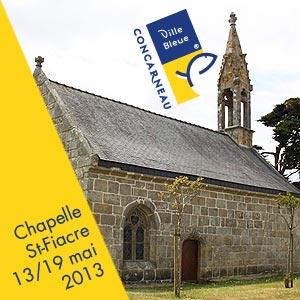 Expo personnelle Chapelle St-Fiacre Concarneau du 13 au 19 mai 2013