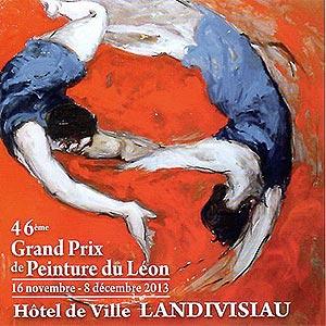46ème Grand Prix de Peinture du Léon - Landivisiau - du 16 nov au 8 déc 2013