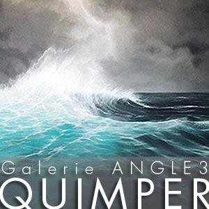 Galerie Angle 3 Quimper - du 30 juin au 23 septembre 2016 © Christian LEROY