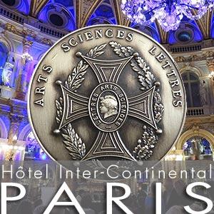 Christian Leroy - Médaille d'Argent - Arts-Sciences-Lettres - Paris 2 juin 2018