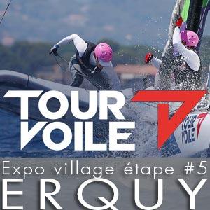 Tour Voile 2021 - Exposition Village étape Erquy - juillet